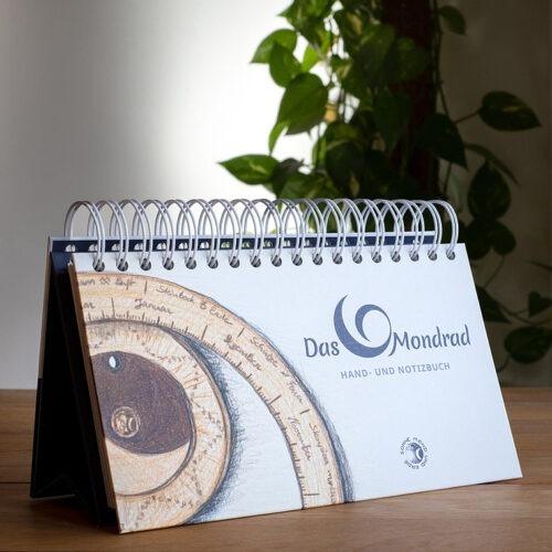 Hand- und Notizbuch zum Mondrad